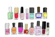 Bottles and colours / Nailpolish bottles and colours,and some tips as well