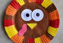 November Lessons for the Class / Lessons and crafts in the classroom for the Month of November.