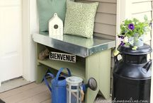 Deck, Porch & Yard / Plamts and things I think for the yard. / by Sonya Schulze