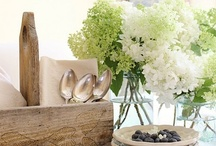 Interiors ~ Pretty Vignettes and Accessories
