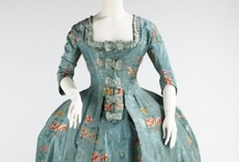 historic fashion around 1760-1780 / I am interested in historic fashion. And sometimes I use it for my watercolors (my paintings and postcards) I love the history behind it. The changes and the difference in ideas through history. I love the patterns, the textiles, the colors and the craftmanship.