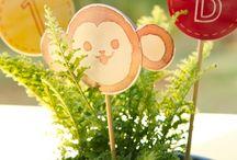 festinhas infantis / referências de decoração de festa infantil com tema ou sem tema.  para se inspirar e fazer você mesmo.