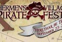 Pirate's Fest /  Annual Pirate Fest at Fishermen's Village!