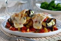 Eggplant Recipes / Hearty and versatile, eggplant is delicious as an accent or the main course in dishes such as Fire-Roasted Caponata. And paired with the fresh taste of Hunt's? Delicious! / by Hunt's Tomatoes