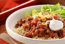 Mexican Recipes / Take your taste buds on a trip south of the border with these delicious, family-pleasing Mexican recipes, full of the garden-fresh flavor of Hunt's tomatoes.