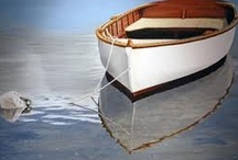 rowboats / My next painting will be a bit of all of these rowboats!! / by Lauren Brown