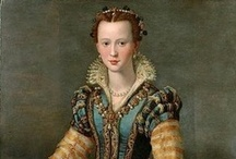 Historic fashion 1500-1600 / I am interested in historic fashion. And sometimes I use it for my watercolors (my paintings and postcards) I love the history behind it. The changes and the difference in ideas through history. I love the patterns, the textiles, the colors and the craftmanship.