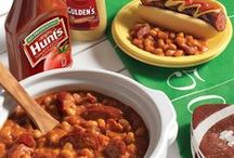 Game Day Recipes / Get ready for game day with delicious recipes for the whole team!