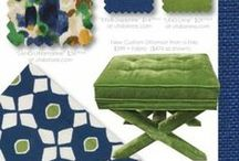 Color Trends - Kelly Green & Cobalt Blue / One of the latest and greatest color trends for Spring 2014 is a vibrant combination of Kelly Green and Cobalt blue. These two colors work together in harmony to create a crisp look that is neither masculine nor feminine.