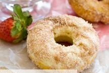 Coffee and Doughnuts / donut recipes, donuts, coffee, coffee recipes, frappuccinos, iced coffee, iced coffee recipes, doughnuts, doughnut recipes