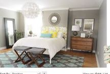 U-Fabulous Rooms: Garden Gaze / Inspired by Young House Love's Master Bedroom