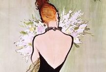 Rene Gruau/ Fashion Drawings