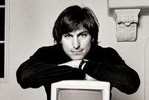 Steve Jobs / by Kleurrijk aquarellen/Geri Meftah WATERCOLORS