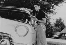 The young Elvis Presley