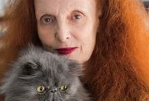 Grace Coddington / Ex- Creative director of American Vogue magazine.