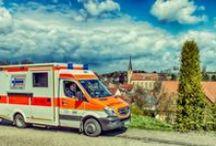 Fahrzeuge der Bäuerle & Co Ambulanz oHG / Bäuerle Ambulanz, Rettungswagen, Krankentransportwagen, Einsatzfahrzeuge, Rettungsdienst Augsburg