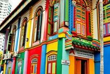 Doors & Colors / Love for color, imagination, creativity  and wonderful outdoors