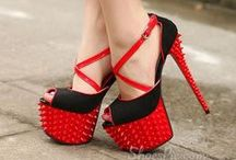 Shoes- Heels / A girl can't have enough shoes / by 💋Tina Rose💋
