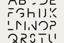 Typography and fonts / Selections of fonts and typography styles  / by Riccardo Bianchi / Delabo