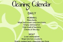 Cleaning / by Dawn Z