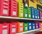 Classroom Organization / Inspiring ideas for organizing and decorating your classroom from Lakeshore Learning!