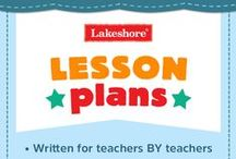 Lakeshore Lesson Plans / Get the school year off to a great start with Lakeshore's wide variety of lesson plans, ranging from pre k–kindergarten, 1st–2nd grade & 3rd–5th grade! / by Lakeshore Learning