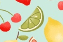 Funky Fruit / Fabric collection designed by Makower UK. Out of Stock; Find more groups like this at andoverfabrics.com.