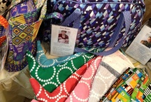 Quilt Market Fall 2012 / Just some of the beautiful quilts and fabrics at the Andover Fabrics booth at Quilt Market!