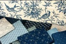 Blue Variety / Fabric collection designed by Jo Morton. Out of Stock; Find more groups like this at andoverfabrics.com.