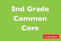 Common Core: Second Grade / Lakeshore has you covered with a wide range of products aligned to Common Core State Standards for second grade! / by Lakeshore Learning