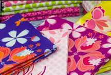 Hothouse Flowers / Fabric collection designed by Mo Bedell.