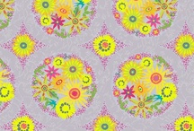Clover Sunshine / Fabric collection designed by Alison Glass. Out of Stock; Find more groups like this at andoverfabrics.com.
