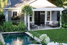 Outdoor decor ideas / by Wendy C