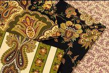 Amelia / Fabric collection designed by Jo Morton.