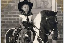 Vintage Pony Pictures / All Cowgirls Love ponies