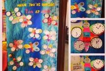 Jaw Dropping Bulletin Boards / Need a classroom bulletin board idea or door decor? Here you'll find really artistic and crafty options. Browse here for your elementary/primary classroom or home school