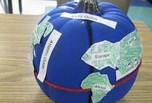 Fall Teaching Ideas / Fall/Autumn time projects, crafts, projects, printables...pumpkins, seasonal activities and more. Browse here for your elementary/primary classroom or home school
