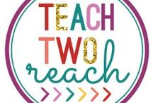 Teach Two Reach BLOG / Here you will find content from Teach Two Reach for your primary and elementary classroom - including but definitely not limited to.. :)...educational activities, teaching ideas, classroom organization and classroom management resources, common core lessons, DIY projects and fun crafts, project templates and tutorials, Science, Social Studies,  Math, and Language Arts projects, and interactive note booking