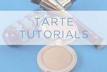 tarte tutorials / tarte tutorials!