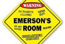 E's room / by Debbi Hamm