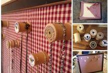 Wooden Thread Spool Ideas