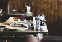 Eating | Dining Spaces / by Joy Fisher