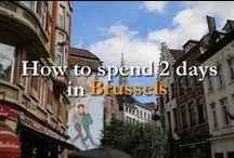 Discover Bruxelles // Belgium / Wondering what to do in the amazing city of Brussels? Follow me and travel.