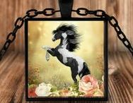 My Western Heart Cowgirl Gifts / Cowgirl gifts, necklaces and keychains for cowgirls and gals that love horses