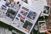 journaling / Smash books, art journals, family history, sketch books, and more.  / by Megan Stimpson
