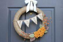 wreaths / by Jennifer Orcutt