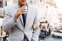 Menswear. / The freshest menswear trends with a side of delicious eye candy.