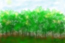 myArt / doodling n painting  / by Elsie Lee