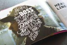 // design: editorial / by Drea ▲