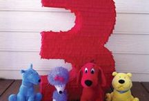 Party / Clifford The Big Red Dog Birthday / Clifford The Big Red Dog birthday party inspiration and ideas